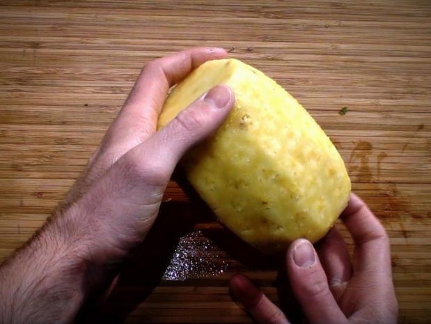 Préparer un ananas
