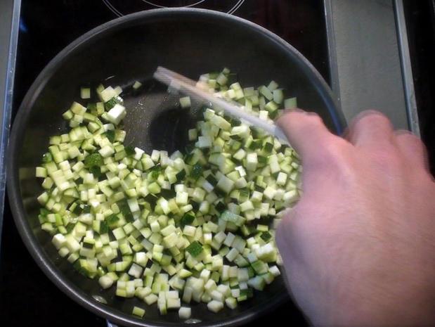 Sauter des légumes