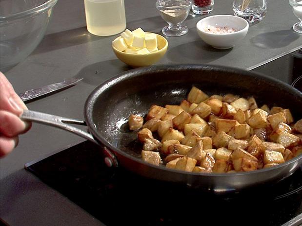 Rissoler des pommes de terre
