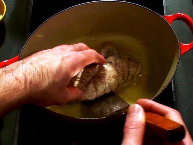 Braiser un ris de veau
