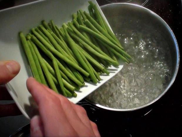 Cuire des légumes à l'anglaise