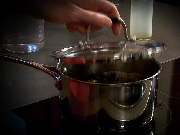 Ouvrir des coquillages à la vapeur