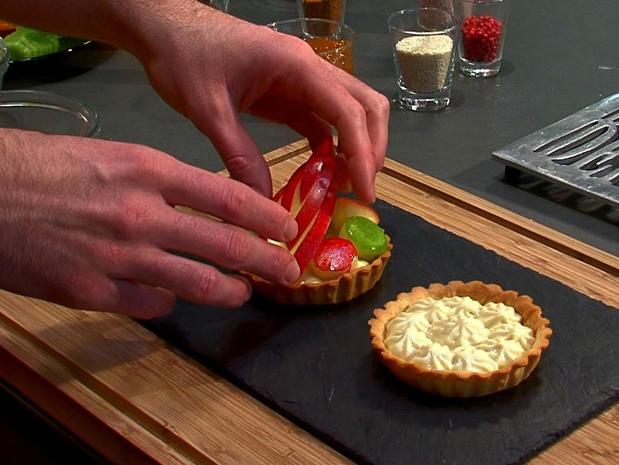 Réaliser une tarte aux fruits