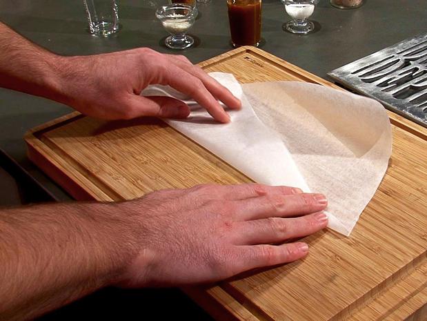 Réaliser un cornet de papier
