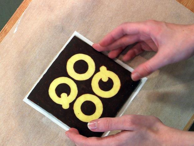 Dessiner avec du chocolat - niveau simple