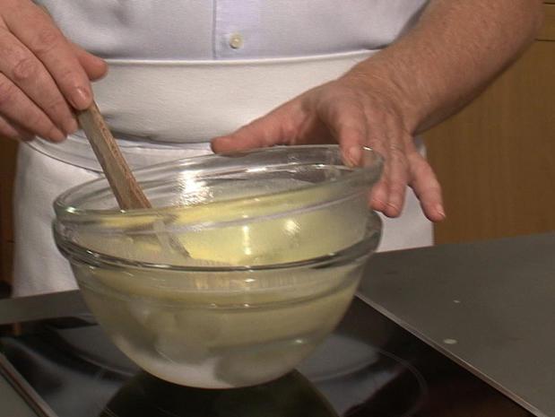 Faire retomber la température d'une crème anglaise