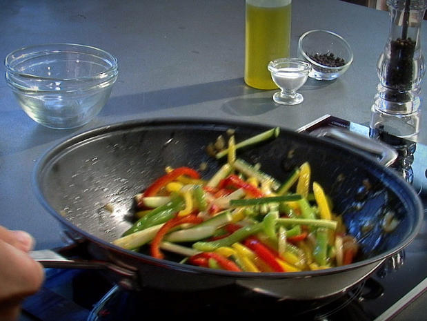 Faire sauter au wok