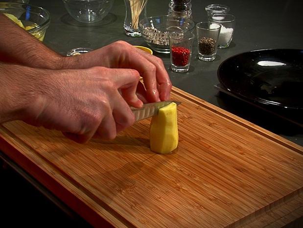 Les différents taillages de pommes de terre
