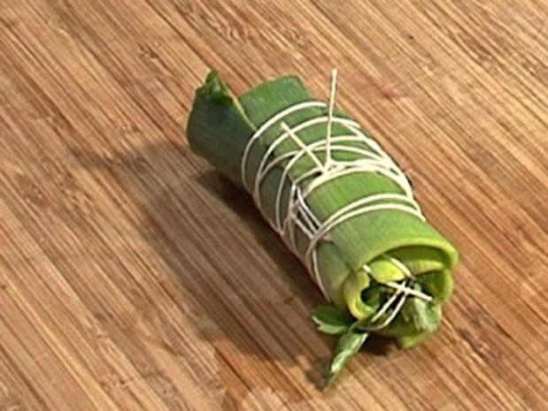 Préparer un bouquet garni